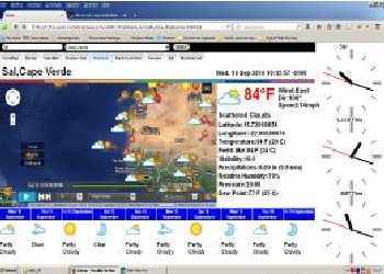 Artsmachine work Web Meteo