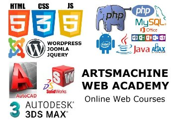ArtsMachine Web Courses